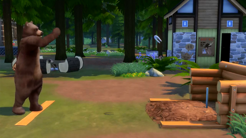 Sims 4: Outdoor Retreat Trailer Releases Tomorrow!