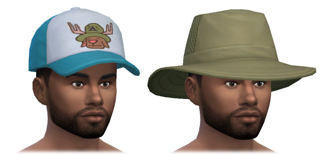 Outdoor Retreat Male Hats