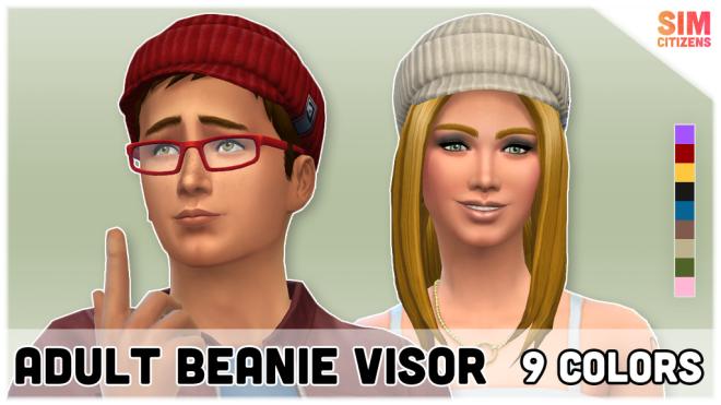 Sims 4 Beanie Visor Mod