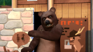 Sims 4 Outdoor Retreat Bear