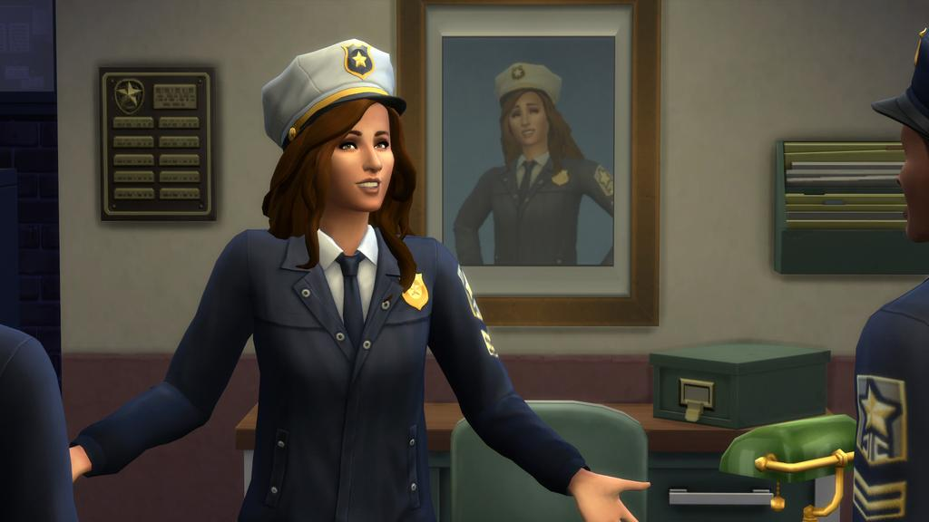 Detective Active Career Details (The Sims 4: Get To Work)