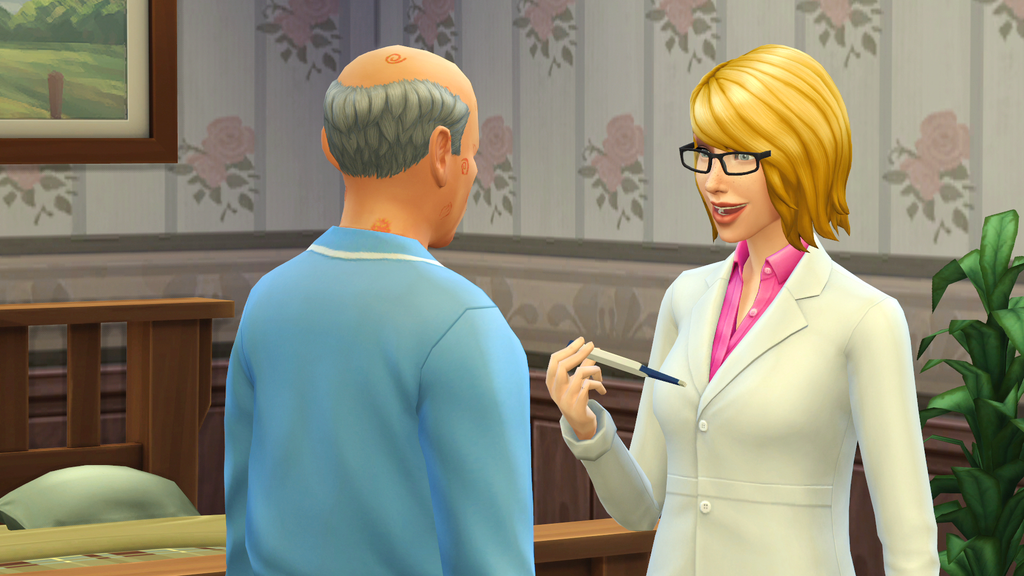 Doctor Active Career Details (The Sims 4: Get To Work)