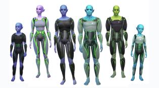 Get to Work Alien Suits