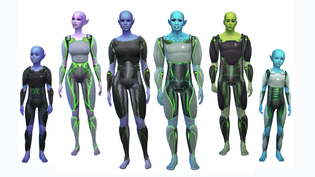 Creating Aliens in The Sims 4 Get to Work – simcitizens