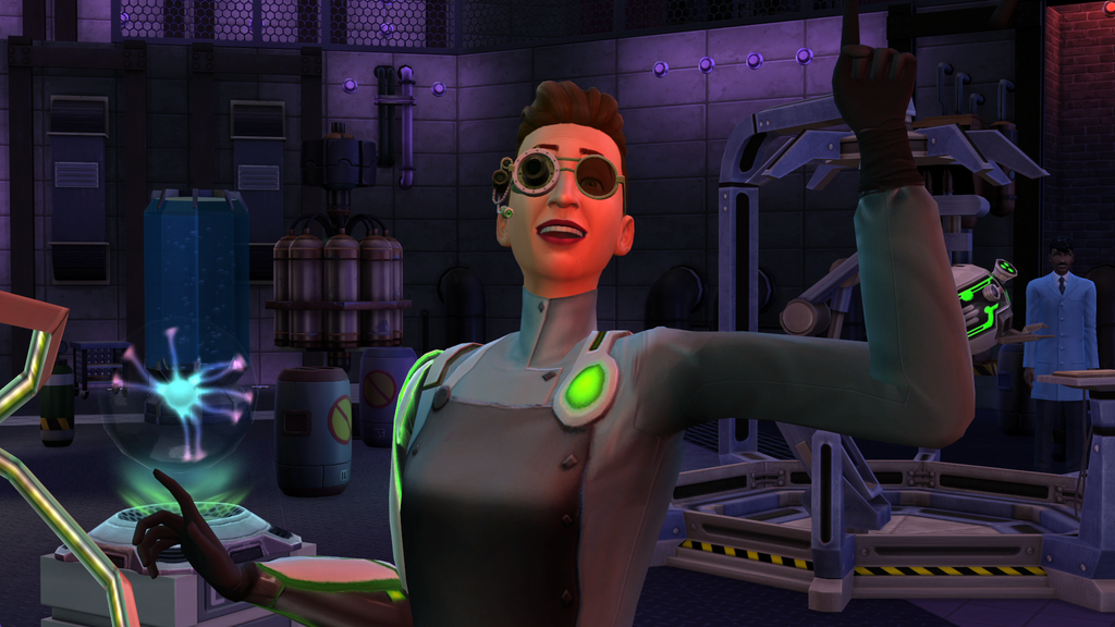 Scientist Active Career Details (The Sims 4: Get To Work)