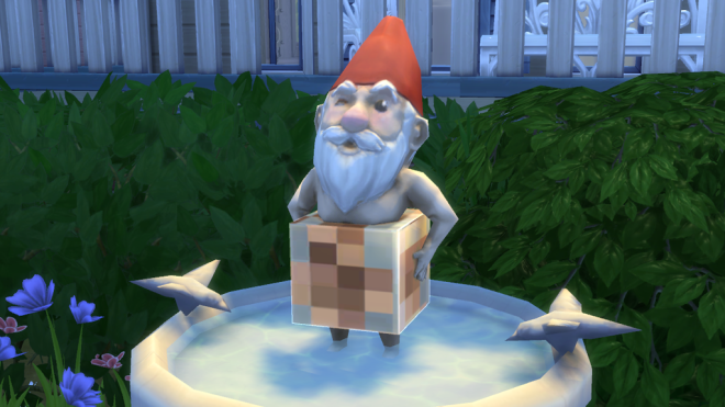 Sims 4 Bare Essentials Gnome