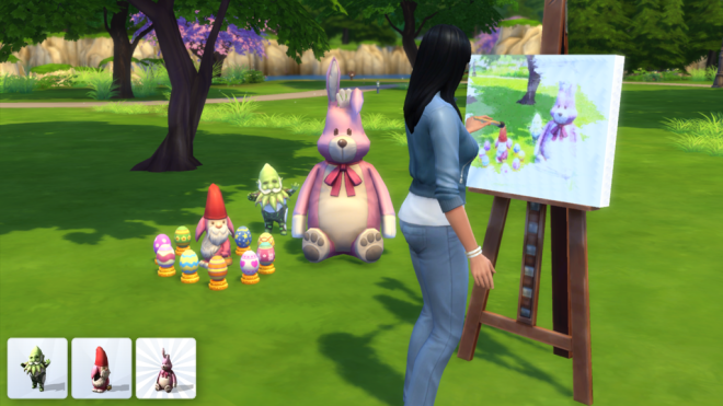 Sims 4 Easter Objects
