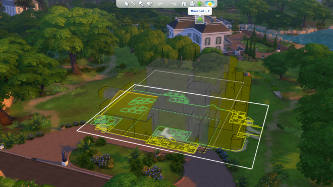 Sims 4 Move Lot