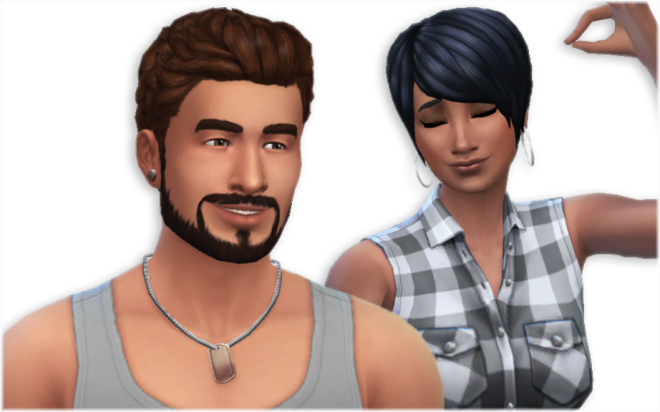 Sims 4 WooHoo Weekend Hairstyles