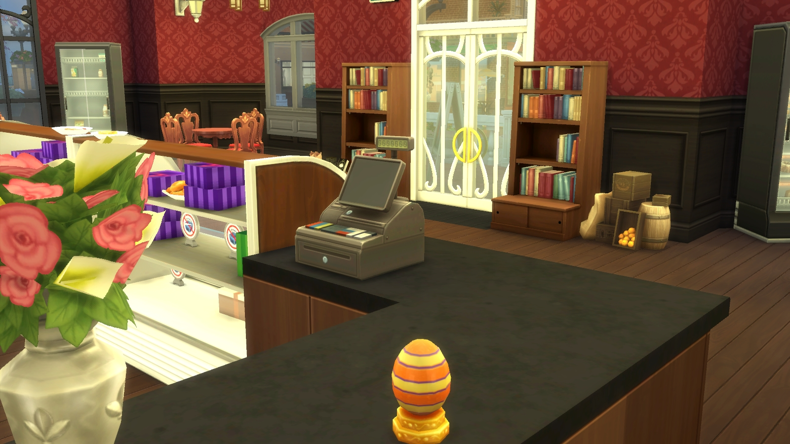 Setting Up A Bakery in The Sims 4 Get To Work