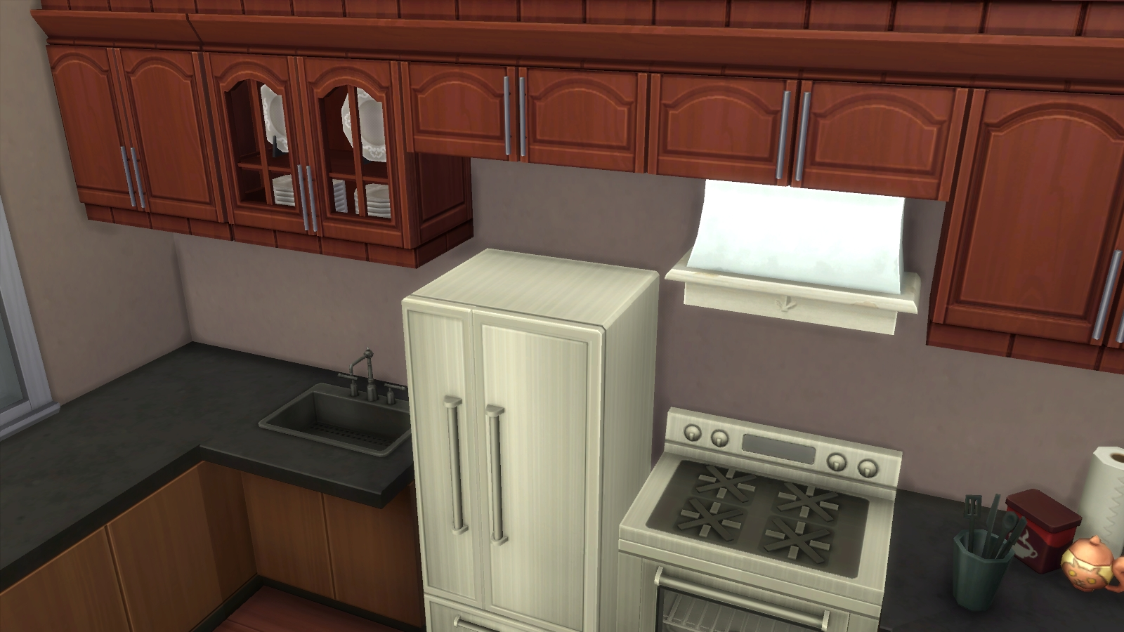 Setting up a bakery in the sims 4 get to work simcitizens for Kitchen set up for restaurant
