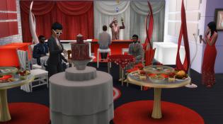 Luxury Party Furniture Scene