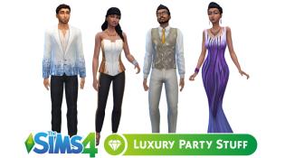 Luxury Party Stuff Sims