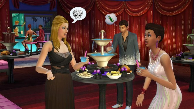 Sims 4 Party Stuff Fountain