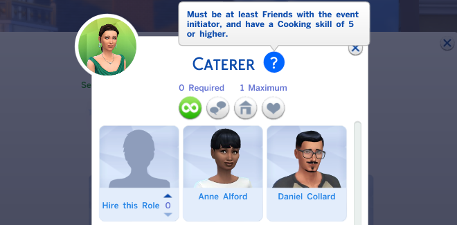Sims 4 Role Requirement