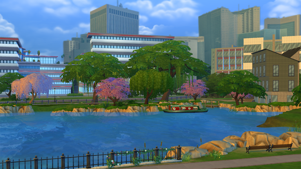 Newcrest Update Adds New World, Tools, and More to The Sims 4