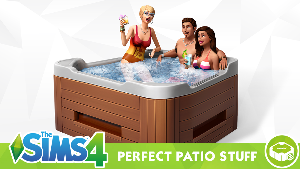 The Sims 4 Perfect Patio Stuff – Hot Tubs and Furniture Overview