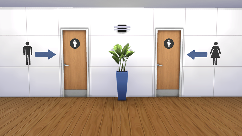 Sims 4 Gender Bathrooms