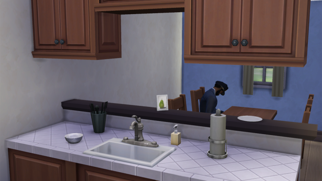 Sims 4 Kitchen Half Wall