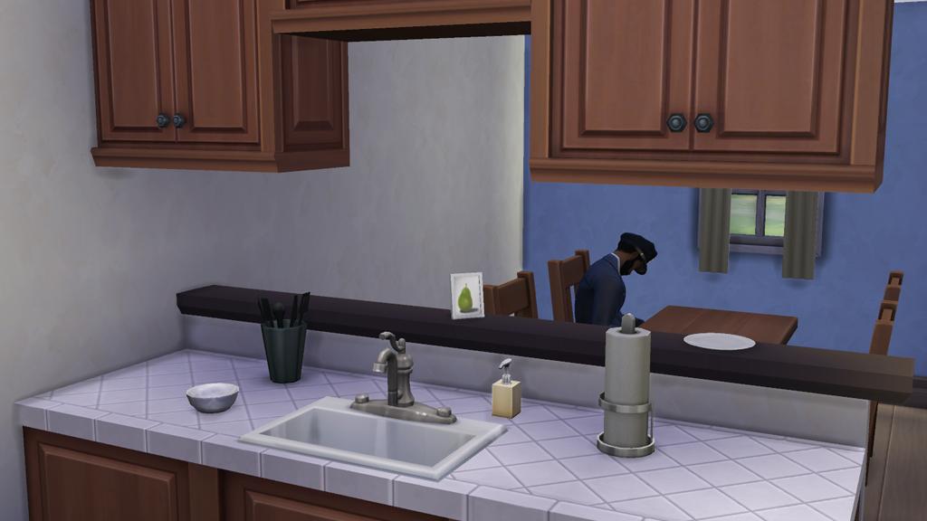 Sims  Half Kitchen Cabinets