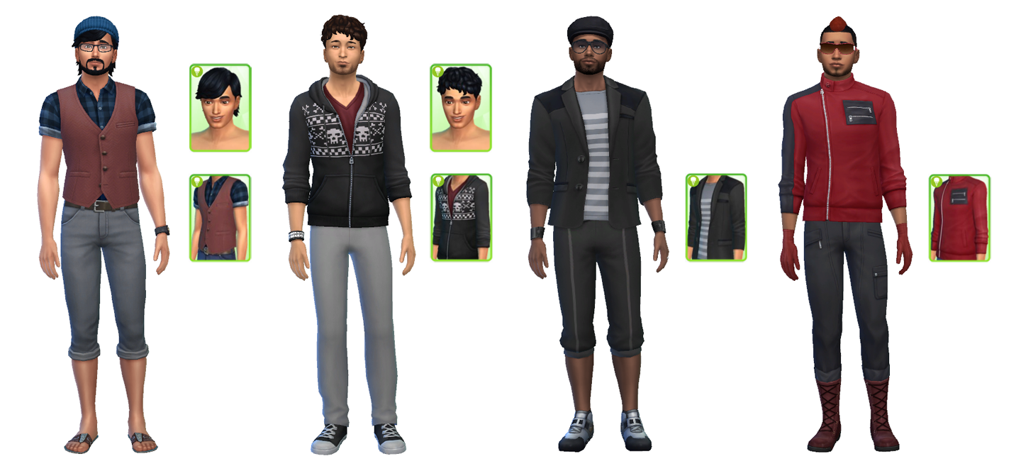 The Sims 4 Cool Kitchen Stuff Clothing And Hairstyles