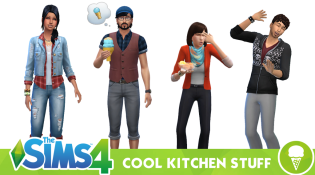 Sims 4 Cool Kitchen Stuff CAS Cover