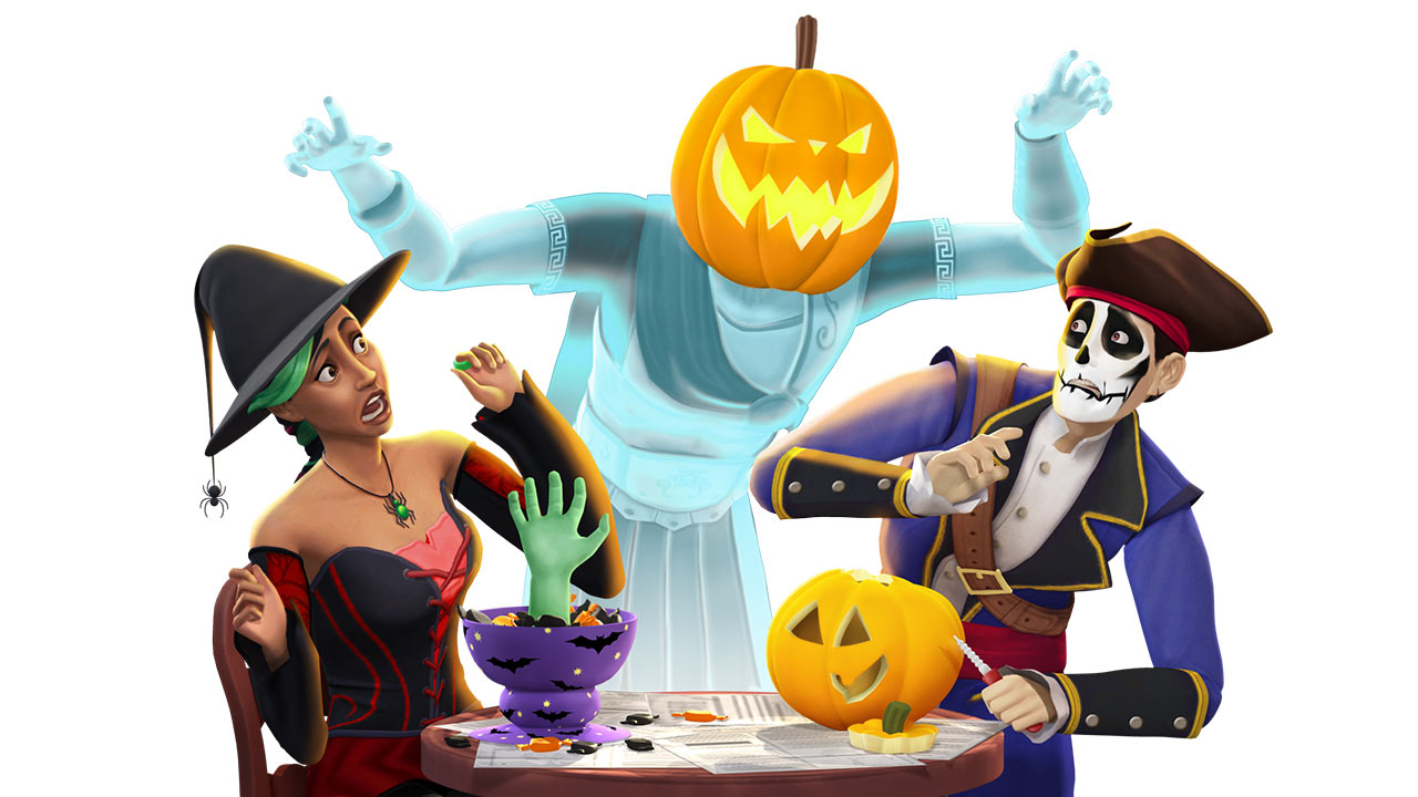 Haunt the Neighborhood with The Sims 4 Spooky Stuff!