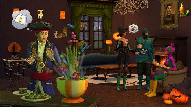 Sims 4 Spooky Stuff Spooky Candy Bowl