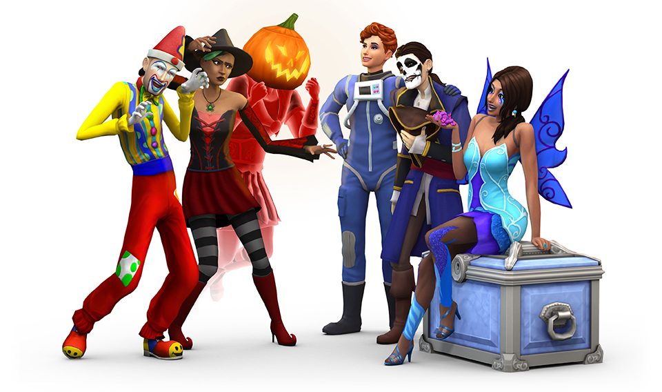 #TeamTrick or #TeamTreat? The Sims 4 Challenge