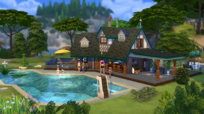 Sims 4 Diving Board