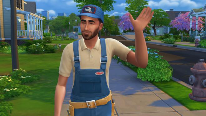 Sims 4 Repairman