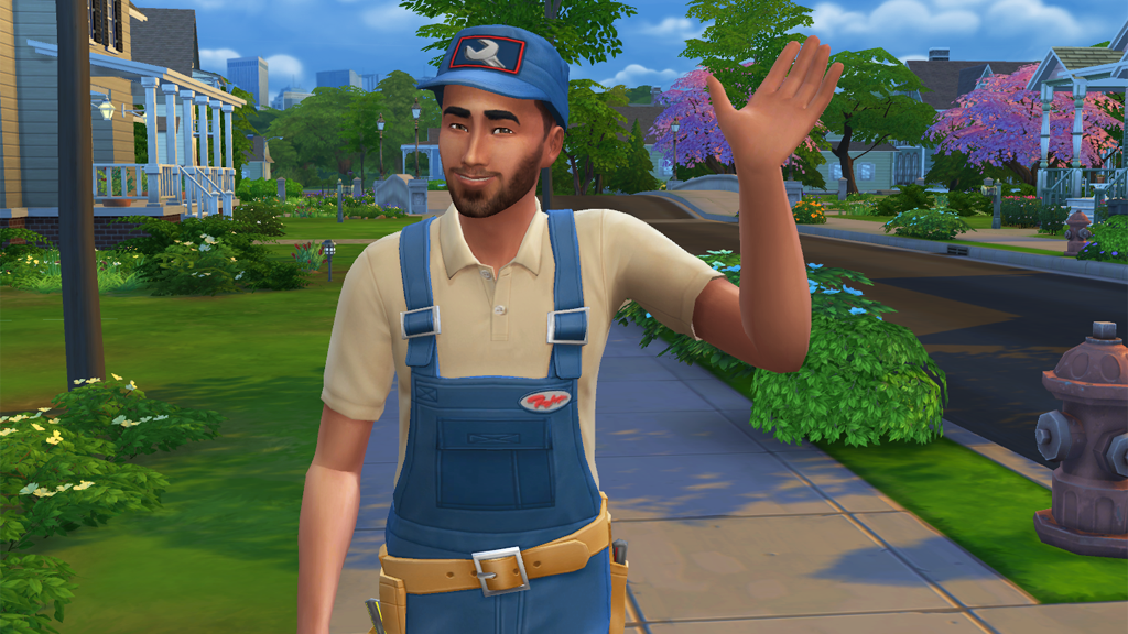 Sims 4 Update (11/3/2015) – Repairmen and Challenge Rewards