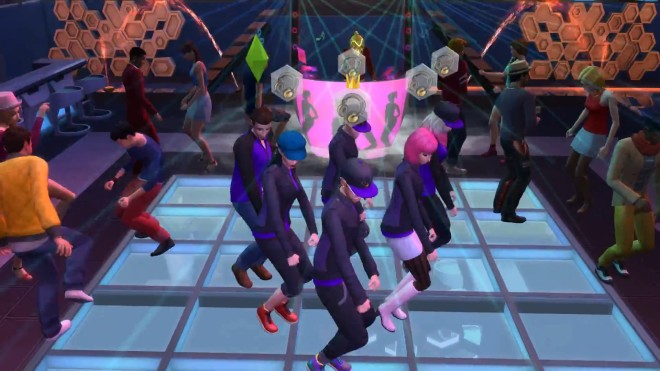 Sims 4 Synchronized Dancing