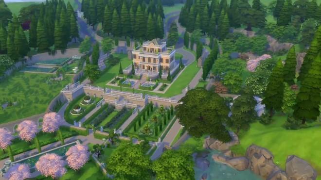Sims 4 Von Haunt Estate