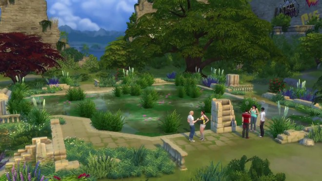 The Sims 4 Bluffs Ruins