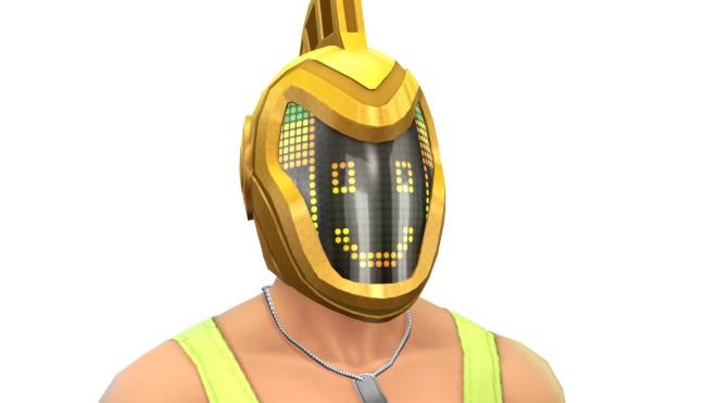 The Robo Helmet unlocks for Sims who reach