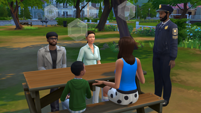 Sims 4 Family Group