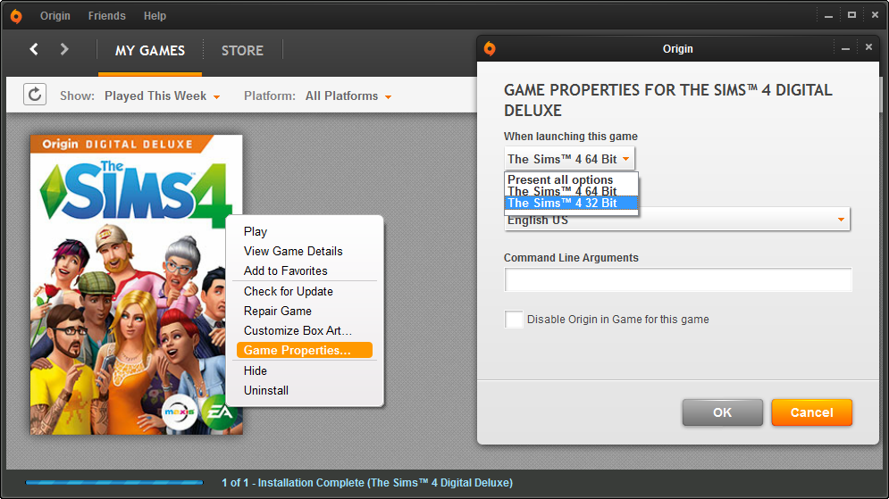 Sims 4 update 4