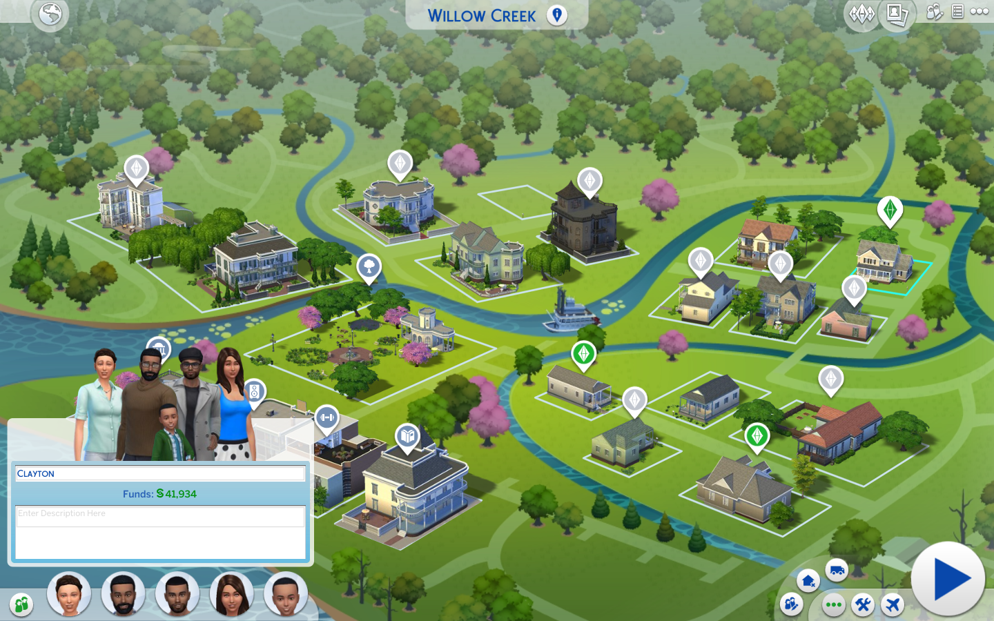 Sims 4 Update (12/4/2015): Pool Venues and Colored World Maps!
