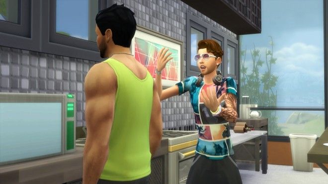 Pesky Neighbor SIms 4