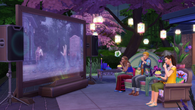 Sims 4 Movie Hangout Stuff Outdoor