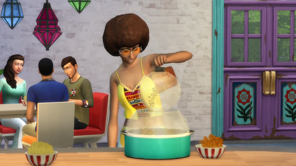 the sims 4 movies