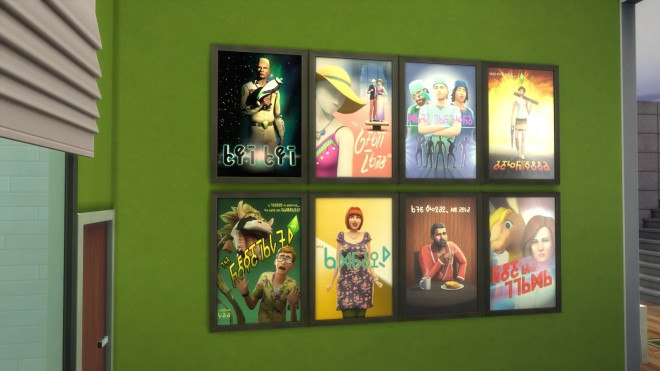 Sims 4 Movie Posters