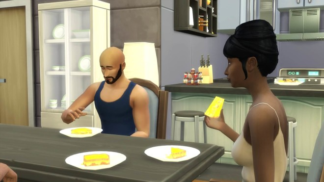 Grilled Cheese SIms 4