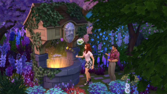 Sims 4 Whispering Wishing Well