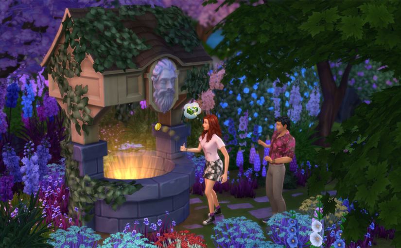 Create a Victorian Garden in The Sims 4 Romantic Garden Stuff