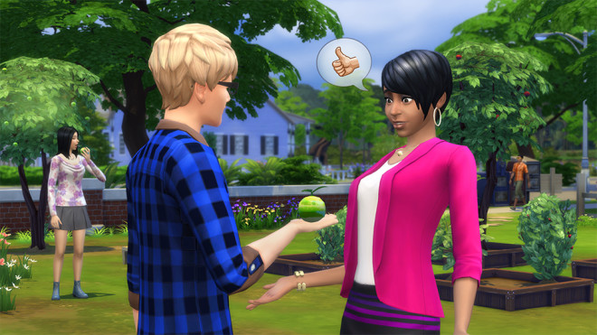 The Sims 4 Growfruit