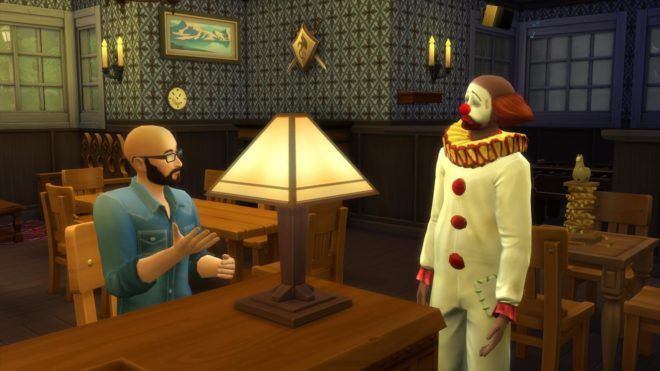 Tragic Clown Sims 4 Pub