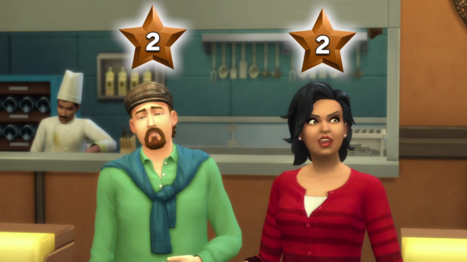 Sims 4 Dine Out Customer Review