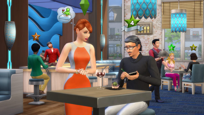 Sims 4 Dine Out Food Critic